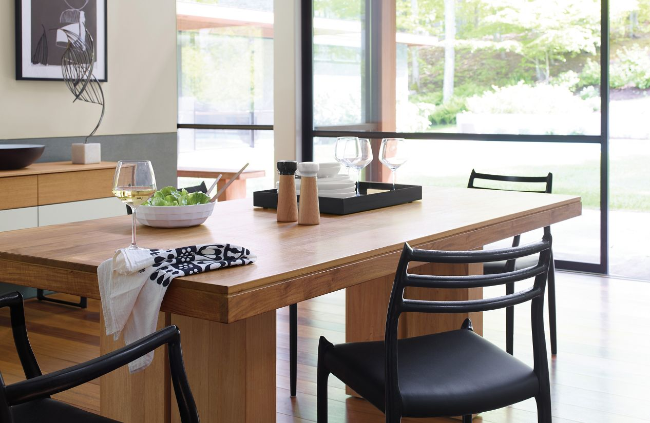kayu teak dining table  design within reach -  kayu teak dining table