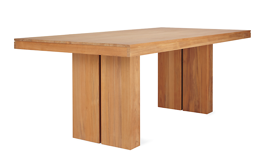 Kayu Teak Dining Table Design Within Reach - Teak outdoor dining table