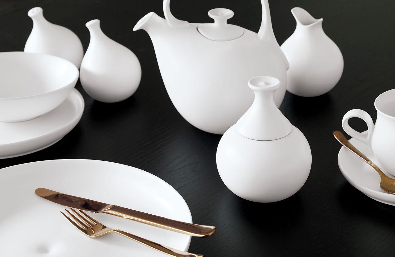 Eva Zeisel Granit Salt And Pepper Shaker Set