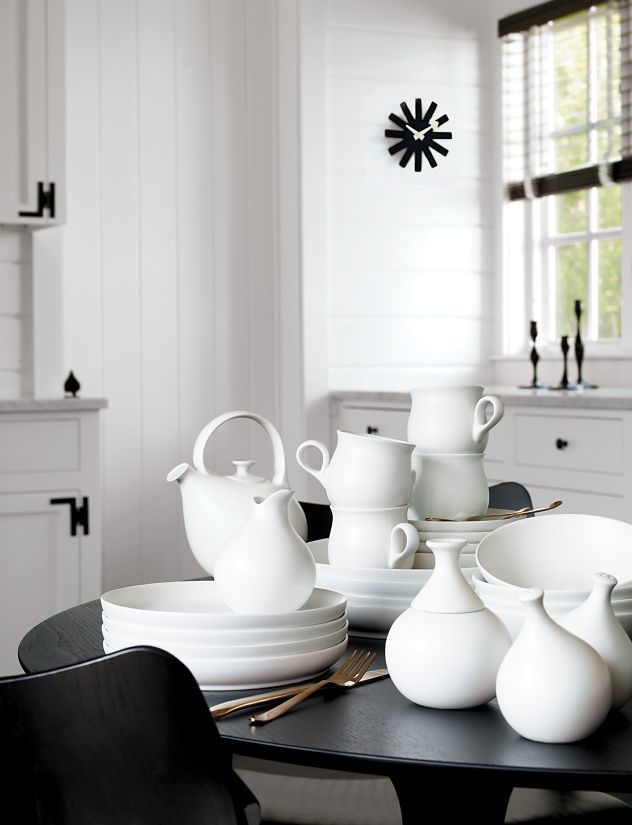 Eva Zeisel Granit Salt and Pepper Shaker Set - Design Within Reach