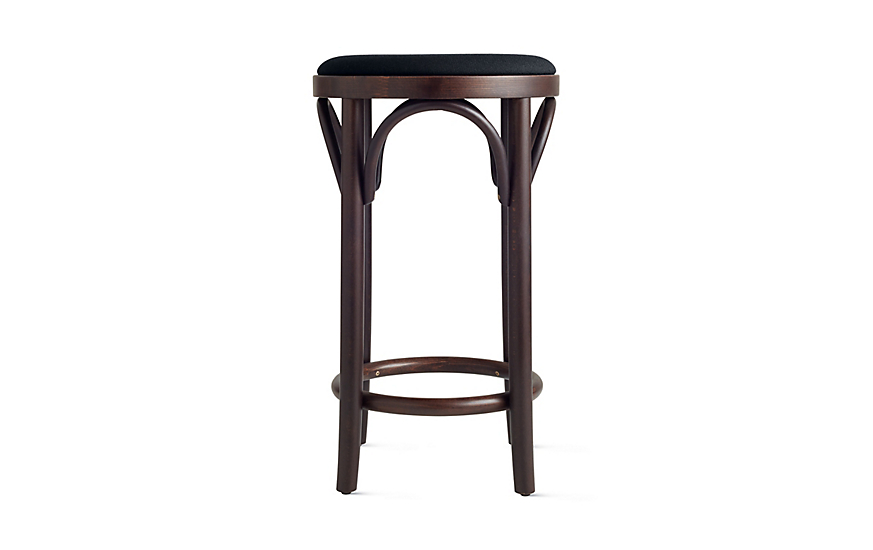 Era Backless Counter Stool Upholstered