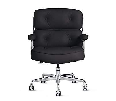 saarinen executive armchair with casters design within reach. Black Bedroom Furniture Sets. Home Design Ideas