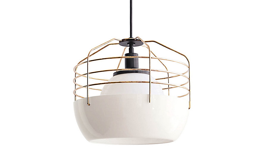 Bluff city pendant large design within reach for Roll and hill bluff city