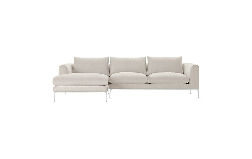 laura lfch furniture tp dania products chaise sectional left