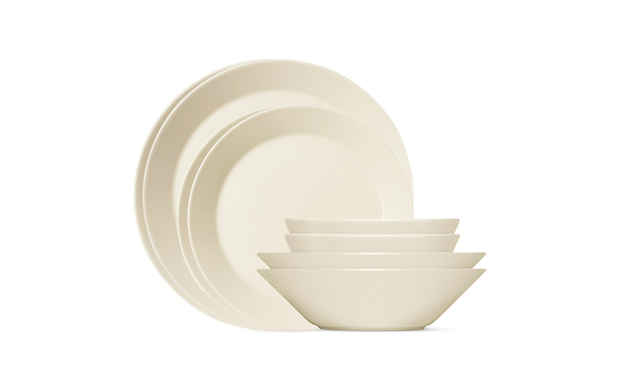 Teema 16-Piece Dinnerware Set  sc 1 st  Design Within Reach : 16 piece dinnerware sets - pezcame.com