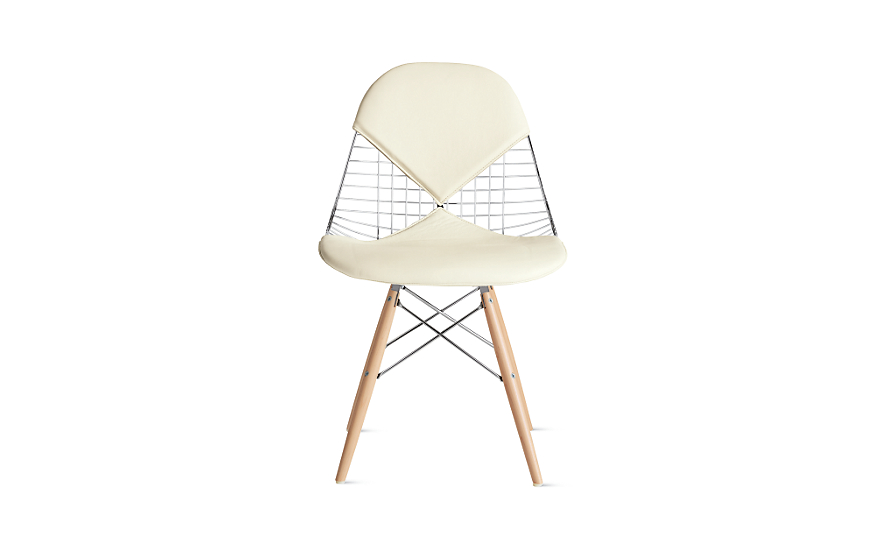Eames® Wire Chair with Bikini Pad (DKW.2)