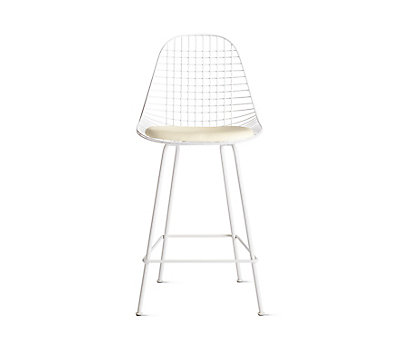 Eames® Wire Counter Stool with Seat Pad (DKHCX.5)