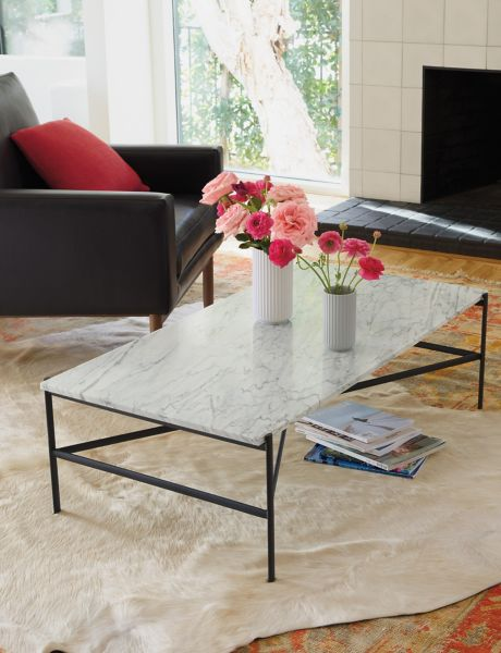 Beau ... Sylvain Outline Rectangular Coffee Table
