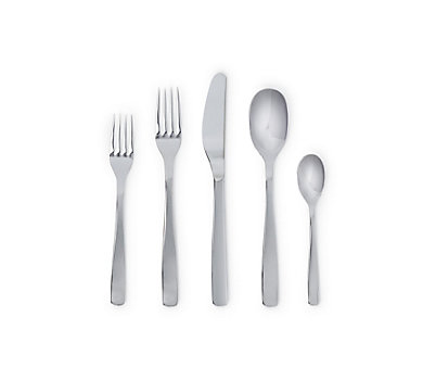 KnifeForkSpoon Flatware, 5-Piece Setting