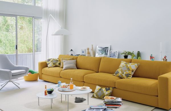 Superbe Reid One Arm Sofa ...