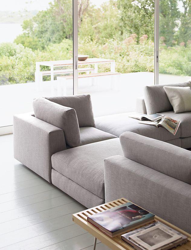 Reid One Arm Sofa