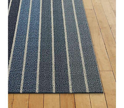 Chilewich Block Stripe Shag Mat