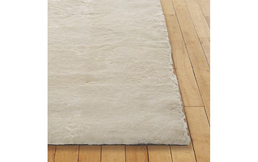 sheared sheepskin rug