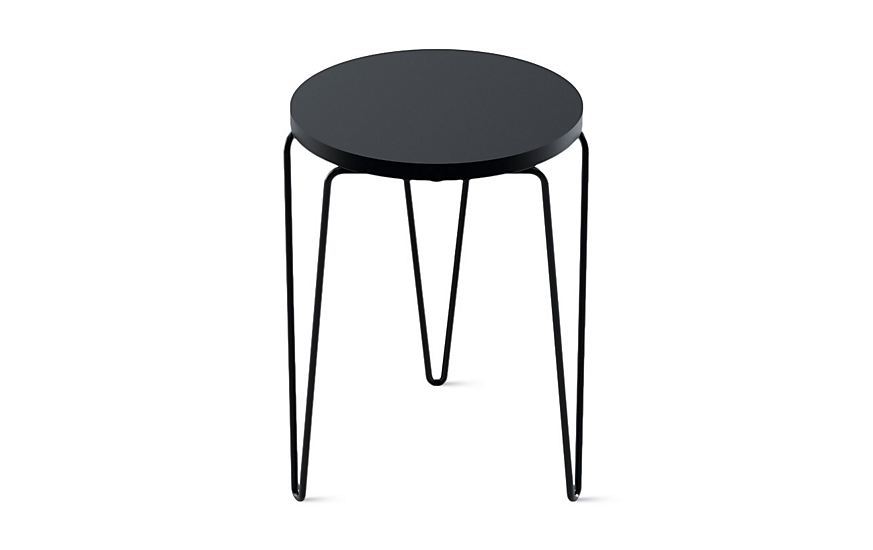 florence knoll hairpin stacking table design within reach. Black Bedroom Furniture Sets. Home Design Ideas