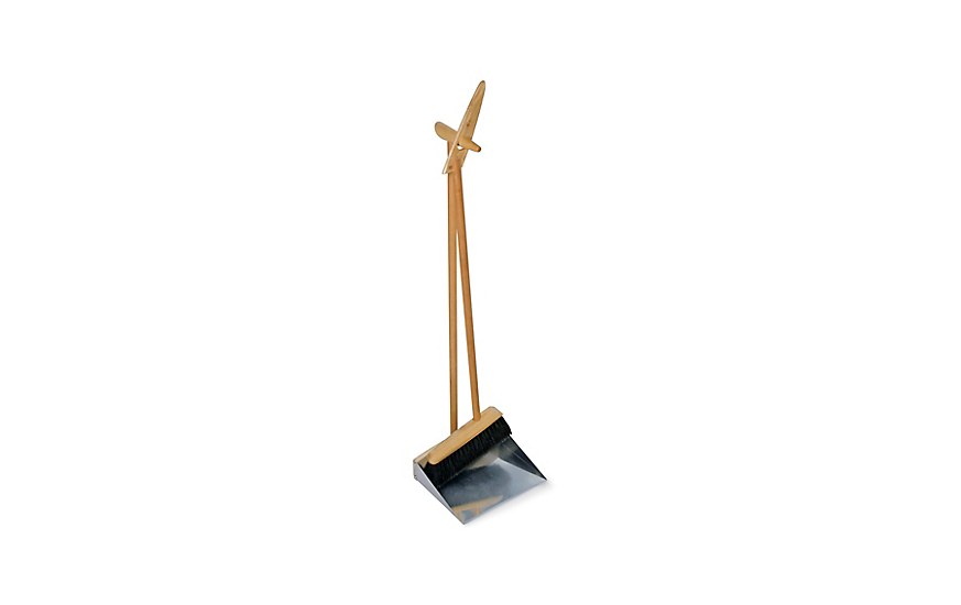 Tall Dustpan and Brush Set