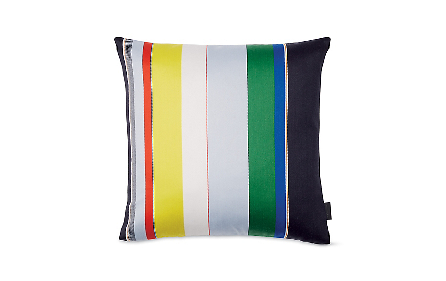Maharam Pillow in Bold Sequential Stripes