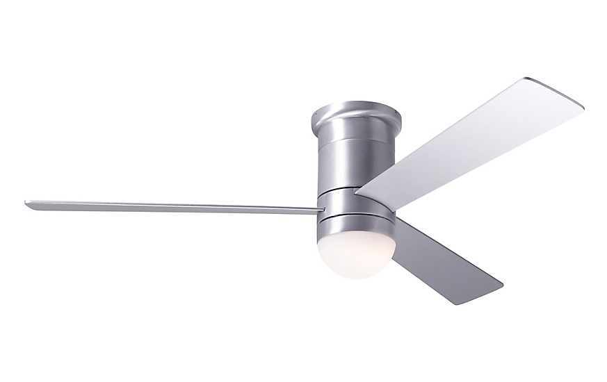 Cirrus flush ceiling fan with led light and remote design within reach cirrus flush ceiling fan with led light and remote aloadofball Images