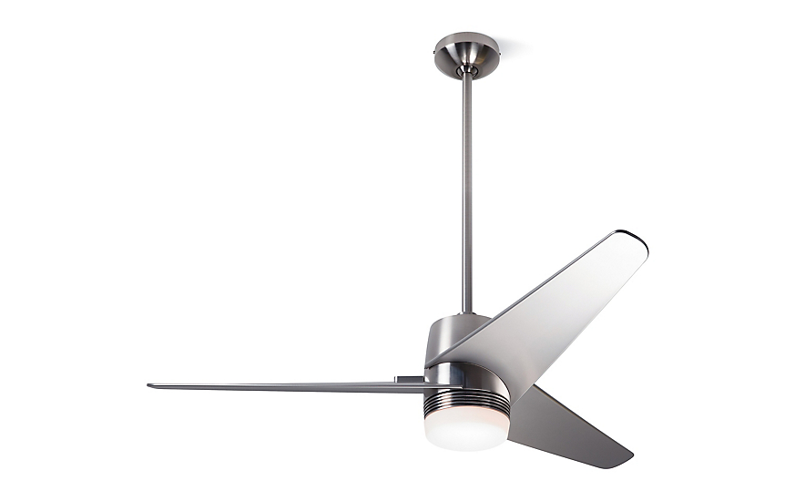 Velo dc ceiling fan with led light and remote design within reach velo dc ceiling fan with led light and remote aloadofball Gallery