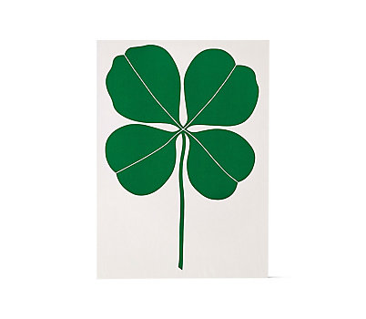 Girard Environmental Enrichment Panel, Four-Leaf Clover