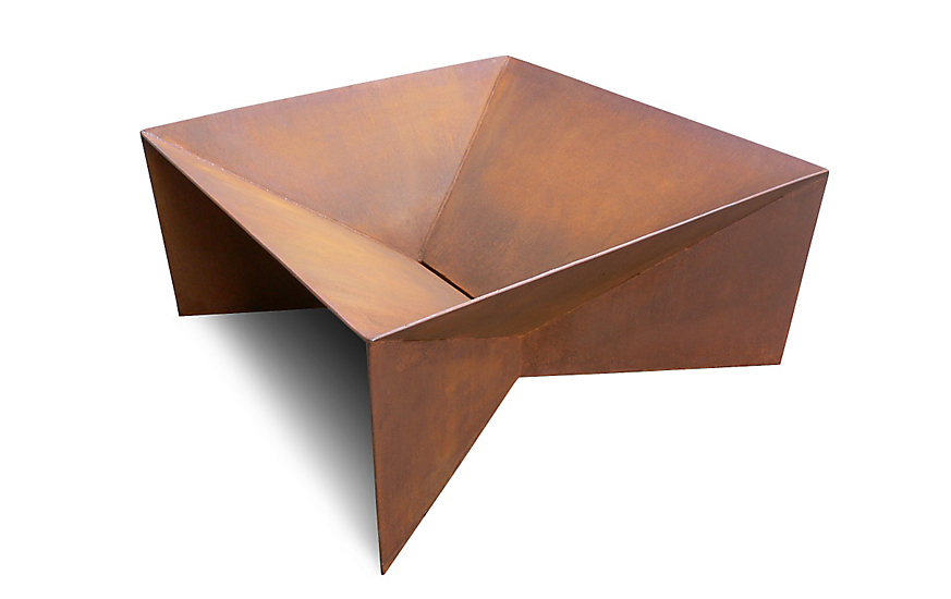 Plodes® Geometric Fire Pit - Plodes® Geometric Fire Pit - Design Within Reach