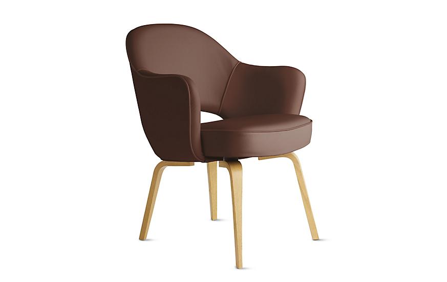 Saarinen Executive Armchair - Wood Legs