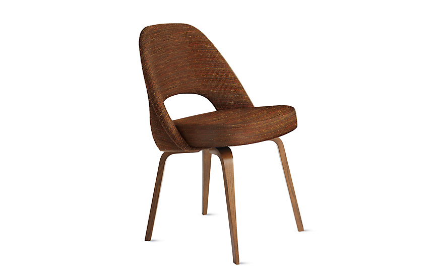Saarinen Executive Side Chair - Wood Legs