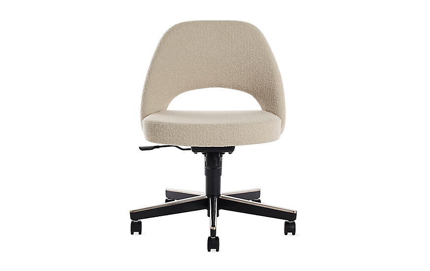 Superieur Saarinen Executive Side Chair With Casters
