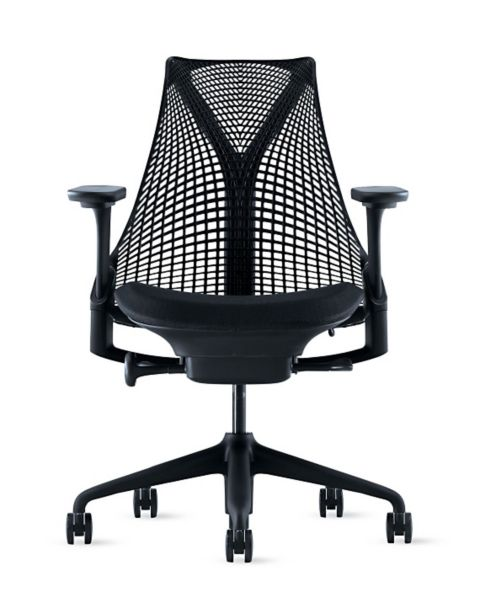 Sayl Task Chair Adjustable Arms and Seat Design Within Reach