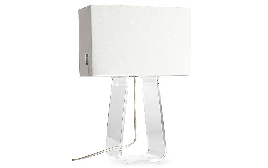 Marvelous Tube Top Table Lamp