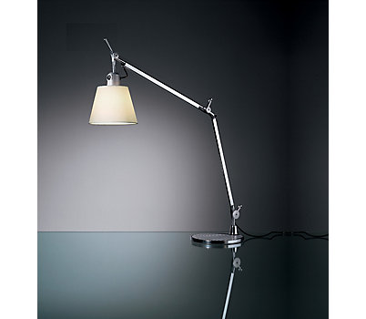 Tolomeo Desk Lamp, Parchment Shade