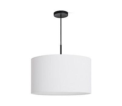 Modern ceiling lights design within reach pleat drum pendant aloadofball Choice Image