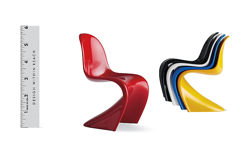 Vitra Miniatures Collection: Panton Chairs (Set of 5)