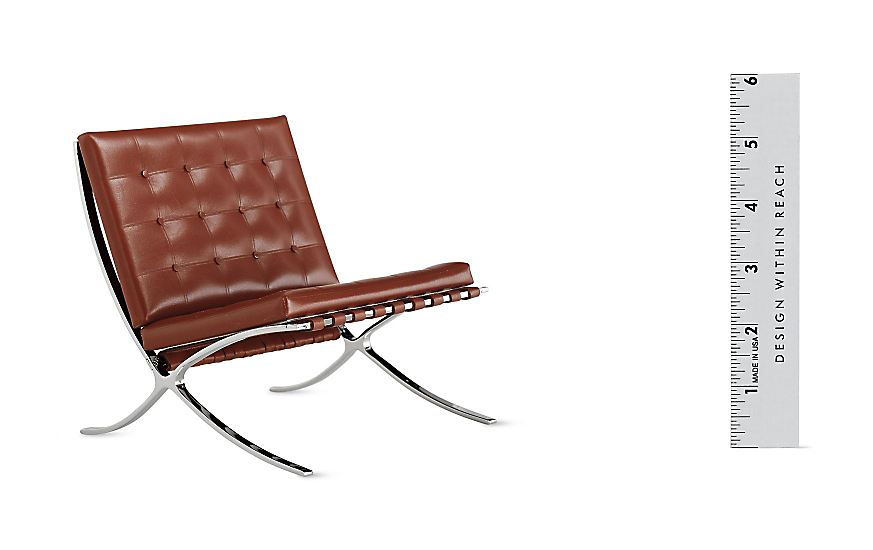 Vitra Miniatures Collection Barcelona® Chair  sc 1 st  Design Within Reach & Ludwig Mies van der Rohe - Design Within Reach