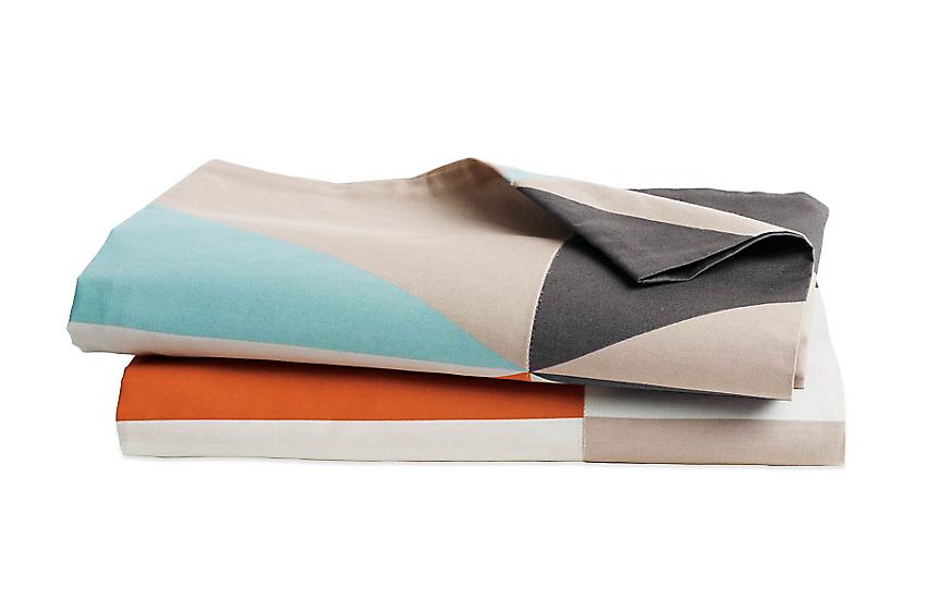DWR Diamond Percale Pillowcases, Set of 2
