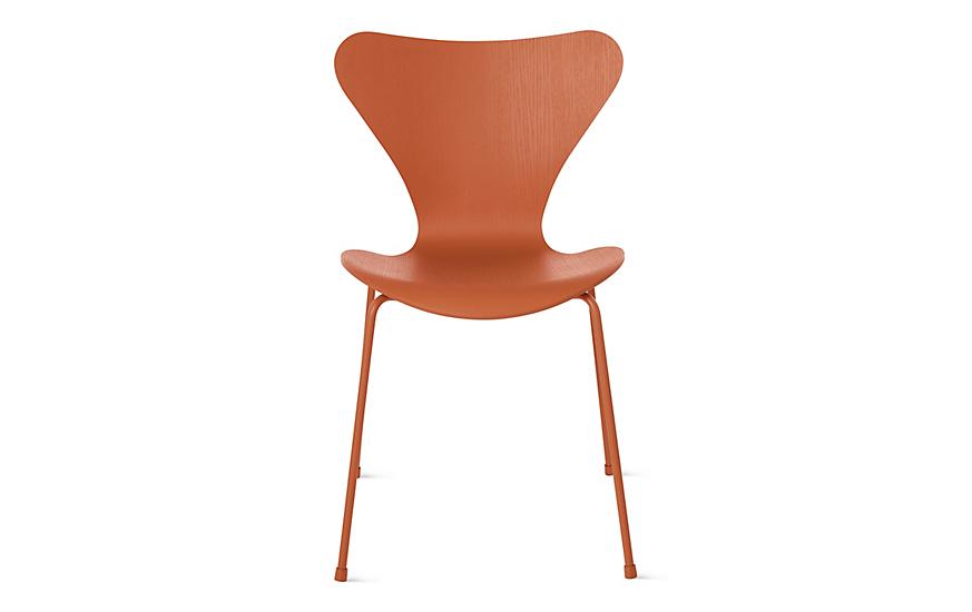 series 7 monochrome chair arne jacobsen furniture