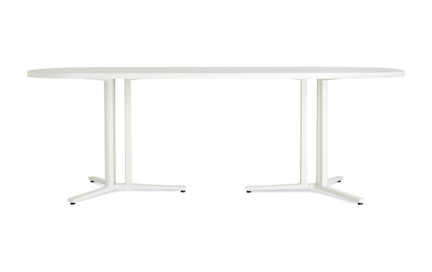 Everywhere Oval Table Herman Miller - White oval conference table