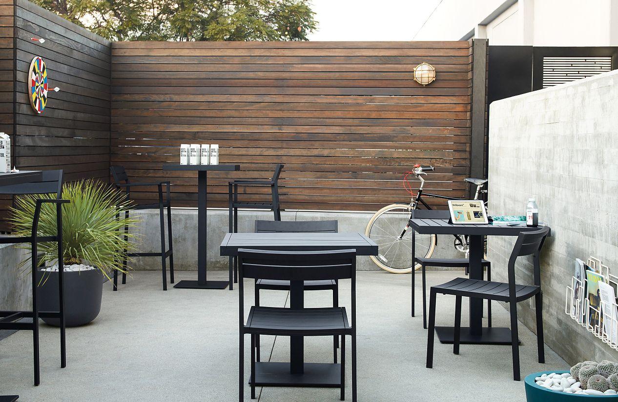 eos barstool design within reach. Black Bedroom Furniture Sets. Home Design Ideas