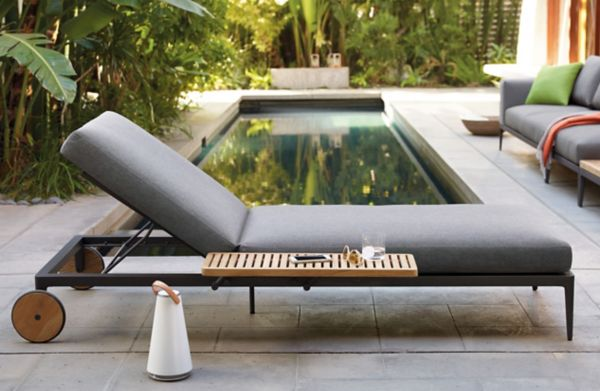 Grid Adjustable Chaise : gloster chaise lounge - Sectionals, Sofas & Couches