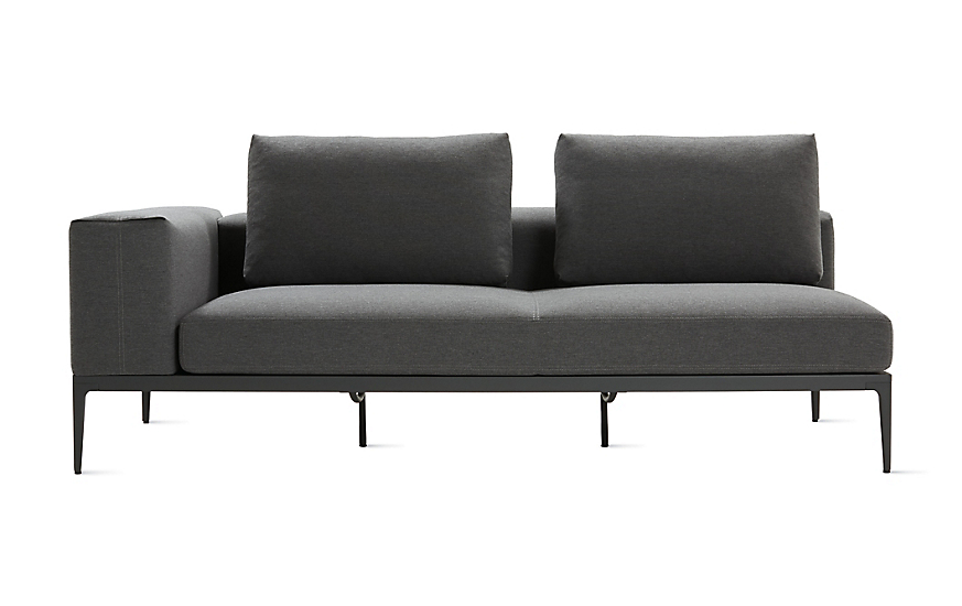 Grid One-Arm Sofa