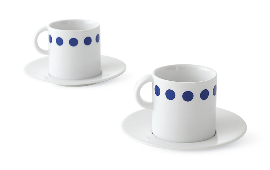 Puntino Demitasse Cups, Set of 2