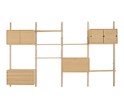 Royal System® Shelving Unit D