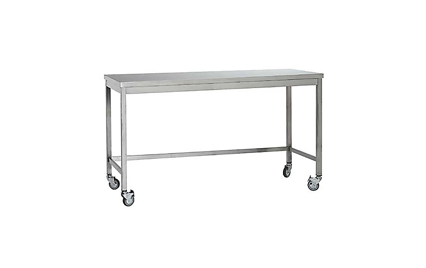 Quovis StandingHeight Table Design Within Reach - Small metal work table