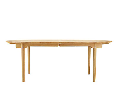 table extension. ch338 oiled oak extension table