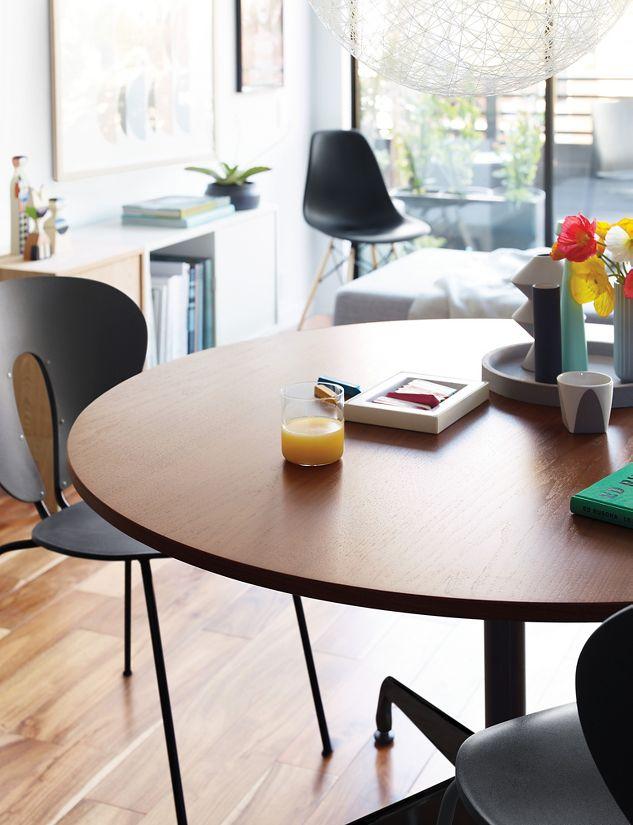 Eames Round Segmented Table Design Within Reach