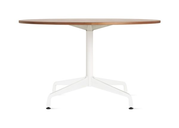 Eames Table with Round Top and Segmented Base Herman Miller