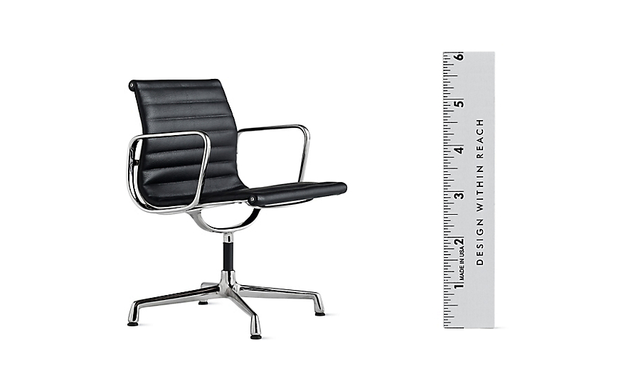 vitra miniatures collection eames aluminum management chair