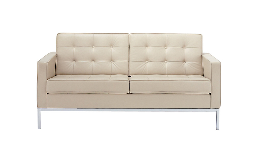 Florence Knoll Two-Seater Sofa  sc 1 st  Design Within Reach & Florence Knoll Two-Seater Sofa - Design Within Reach