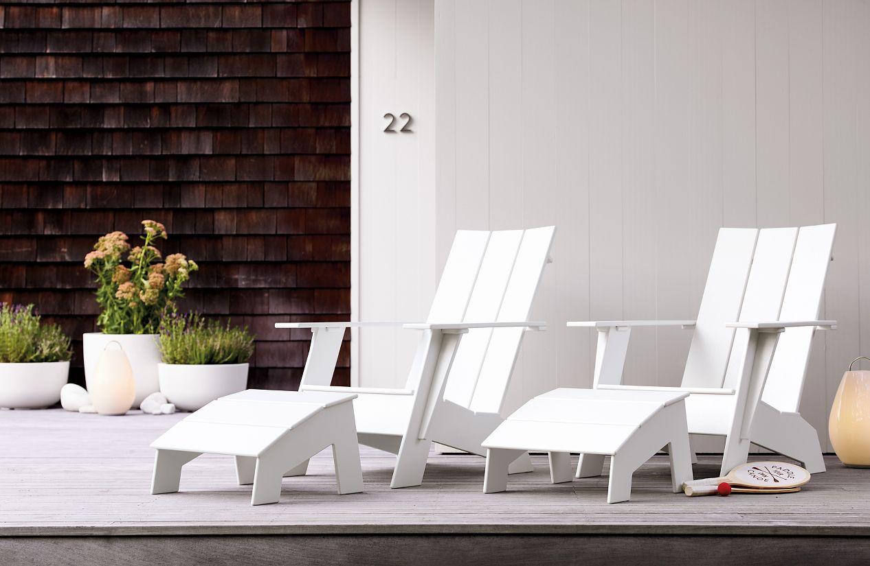 adirondack chair design within reach. Black Bedroom Furniture Sets. Home Design Ideas