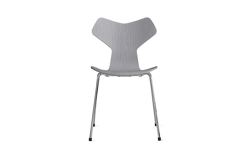 Grand Prix Dining Chair with Metal Legs