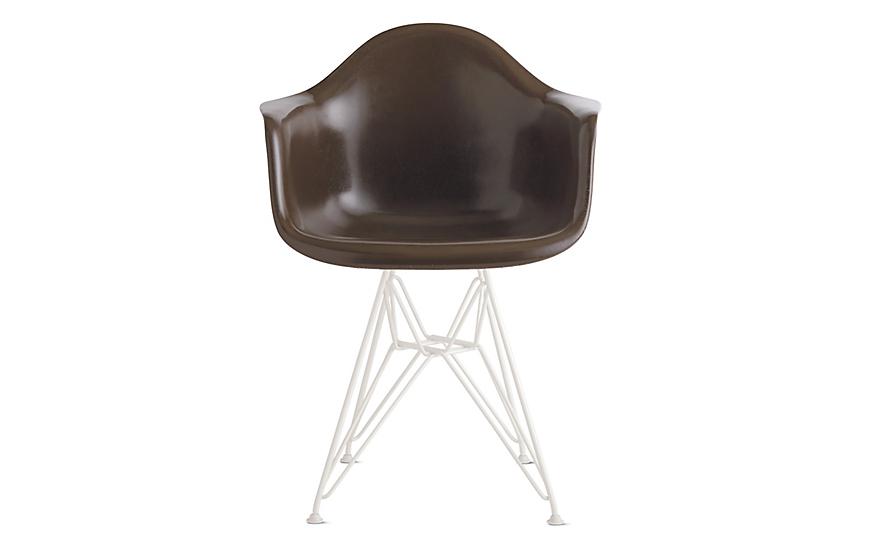 Eames® Molded Fiberglass Wire-Base Armchair (DFAR)